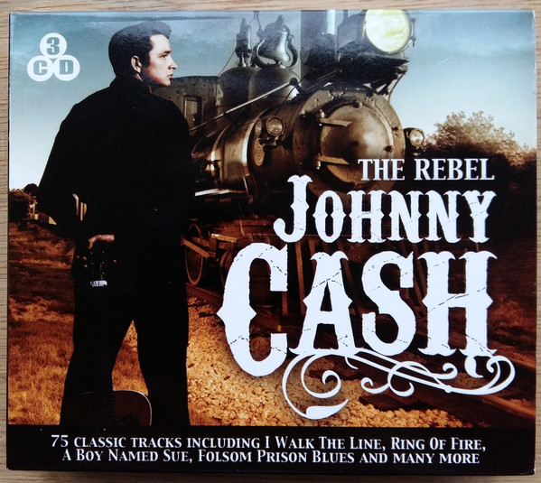 Johnny Cash The Rebel // 75 Classic Tracks