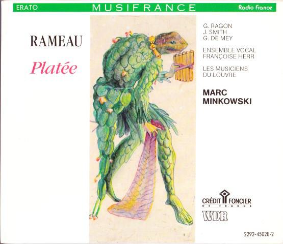 Rameau - Marc Minkowski, G. Ragon, J. Smith, G. De Mey, Ensemble Vocal Françoise Herr, Les Musiciens Du Louvre Platée Vinyl