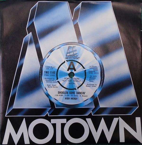 High Inergy Shoulda Gone Dancin' Vinyl
