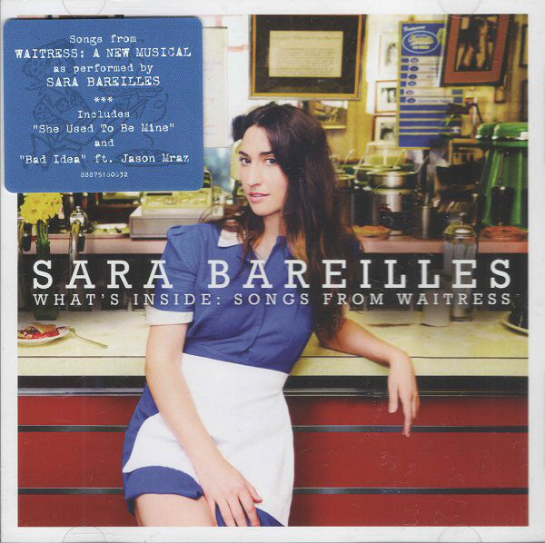 Bareilles, Sara What's Inside: Songs From Waitress CD