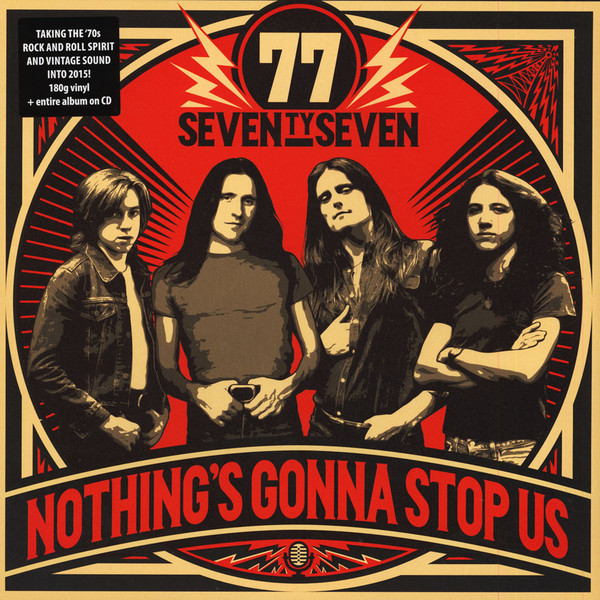 '77 (Seventy Seven) Nothing's Gonna Stop Vinyl