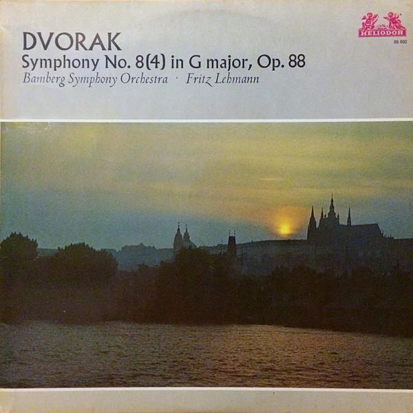 Dvorak - Fritz Lehmann Symphony No. 8 (4) in G major, Op. 88 Vinyl