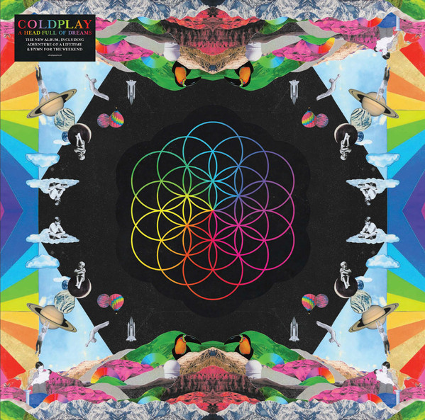 Coldplay A Head Full Of Dreams Vinyl