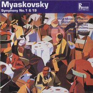 Myaskovsky - USSR Ministry of Culture Symphony Orchestra, Gennadi Rozhdestvensky, Russian State Brass Orchestra, Nikolai Sergeyev Symphony No. 1, Symphony No. 19