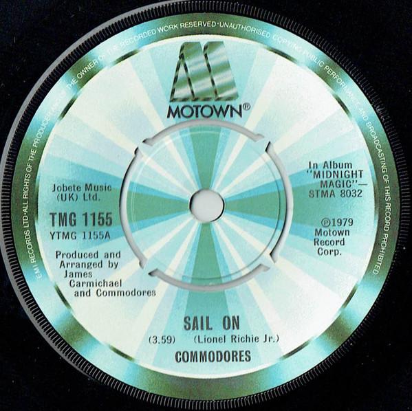 Commodores Sail On Vinyl