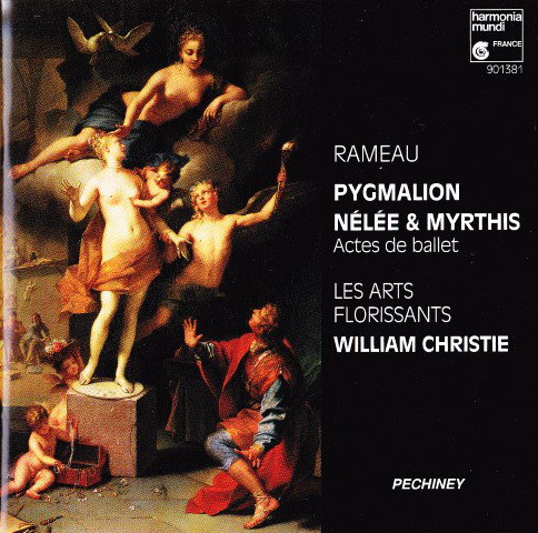 Rameau - Les Arts Florissants, William Christie Pygmalion - Nélée Et Myrthis Vinyl