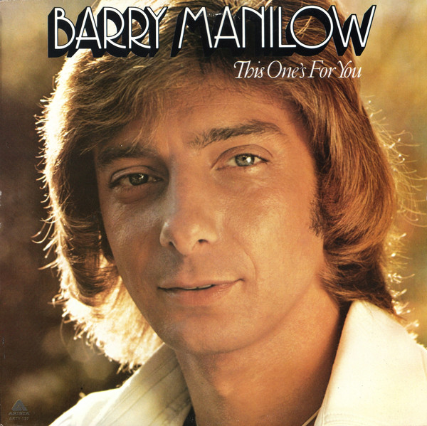 Manilow, Barry This One's For You Vinyl