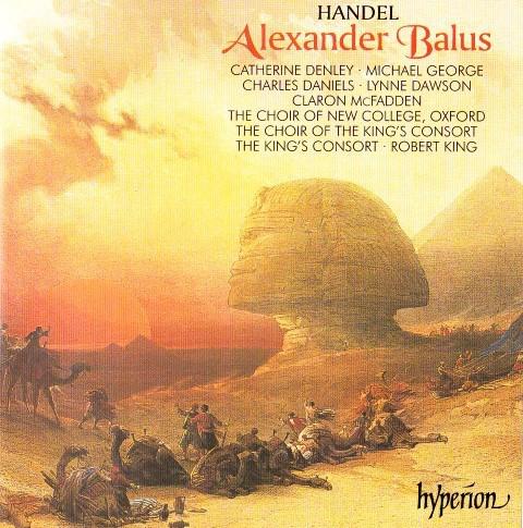 Handel - Catherine Denley, Michael George, Charles Daniels, Lynne Dawson, Claron McFadden Alexander Balus