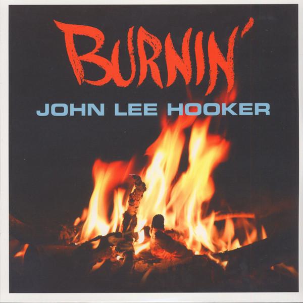 John Lee Hooker Burnin' Vinyl