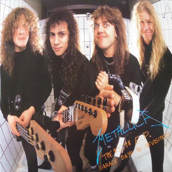 Metallica The $5.98 E.P. Garage Days Re-Revisited Vinyl
