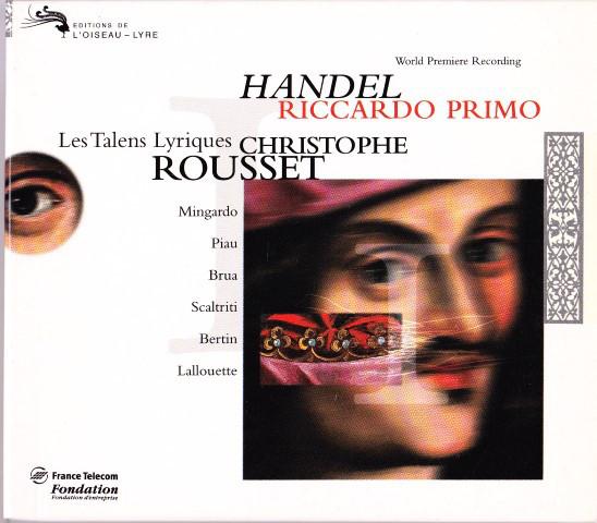 Handel - Christophe Rousset, Les Talens Lyriques Riccardo Primo