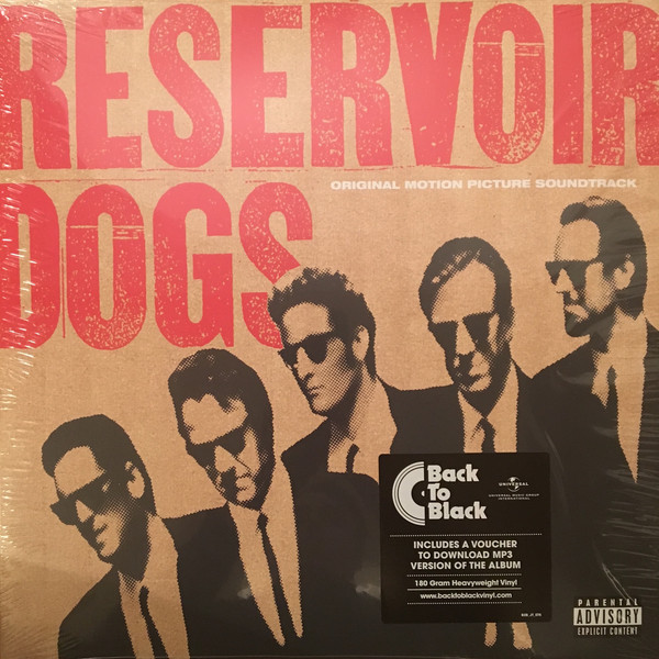 Original Motion Picture Soundtrack Reservoir Dogs Vinyl