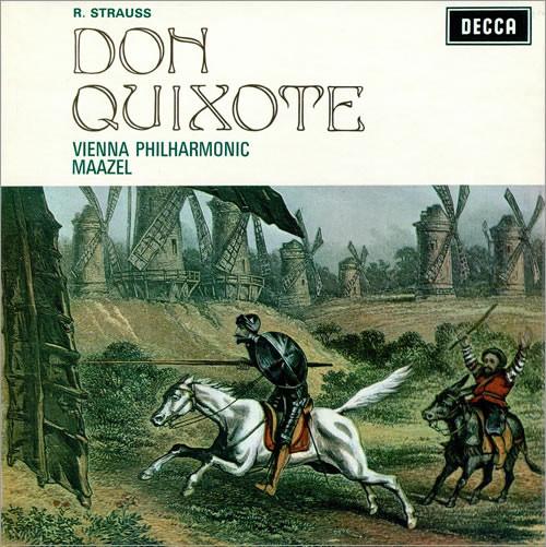 Strauss - Lorin Maazel, Emanuel Brabec, Josef Staar Don Quixote Vinyl