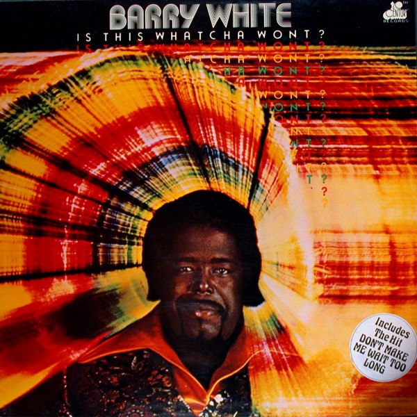 White, Barry Is This Whatcha Wont? Vinyl
