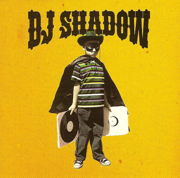 DJ Shadow The Outsider CD