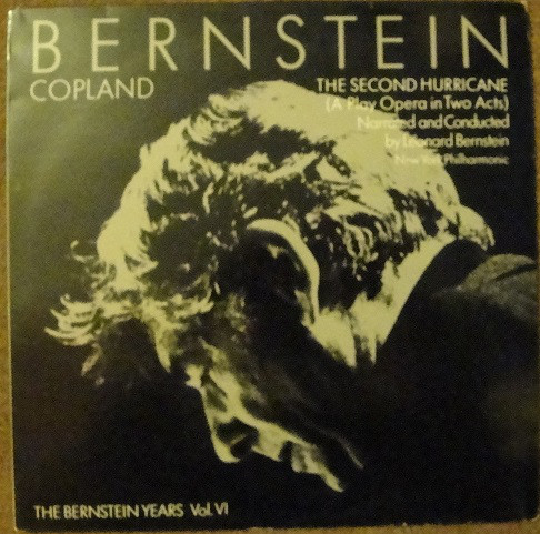 Leonard Bernstein, Aaron Copland, The New York Philharmonic Orchestra The Second Hurricane  Vinyl