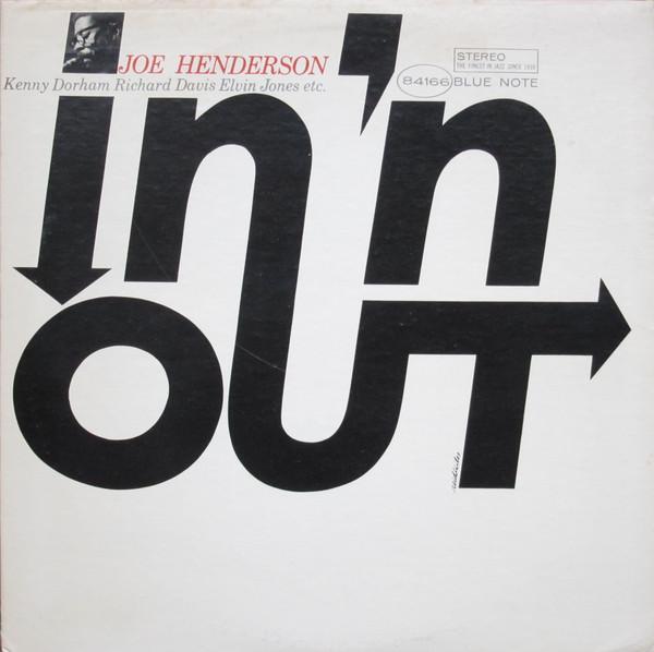Joe Henderson In 'N Out Vinyl