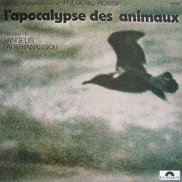 Vangelis Papathanassiou L'Apocalypse Des Animaux Vinyl