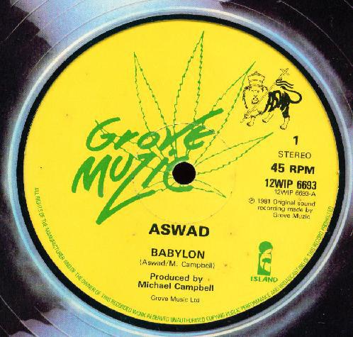 Aswad Babylon Vinyl