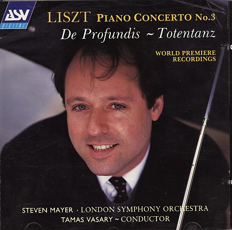 Liszt - Steven Mayer, The London Symphony Orchestra, Tamás Vásáry Piano Concerto #3/De Profundis/Totentanz Vinyl