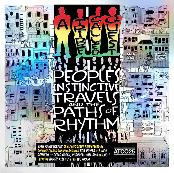 A Tribe Called Quest People's Instinctive Travels And The Paths Of Rhythm  Vinyl