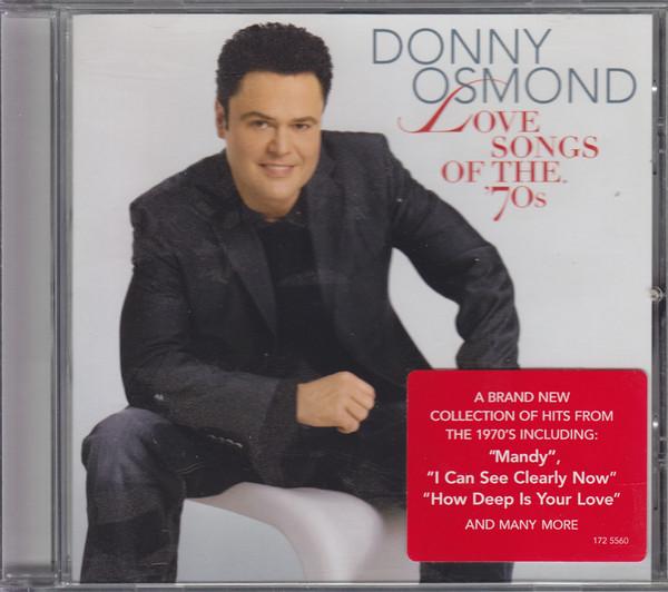 Osmond, Donny Love Songs Of The '70s CD