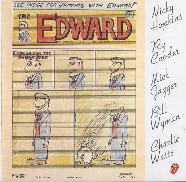 Nicky Hopkins, Ry Cooder, Mick Jagger, Bill Wyman, Charlie Watts Jamming With Edward! CD