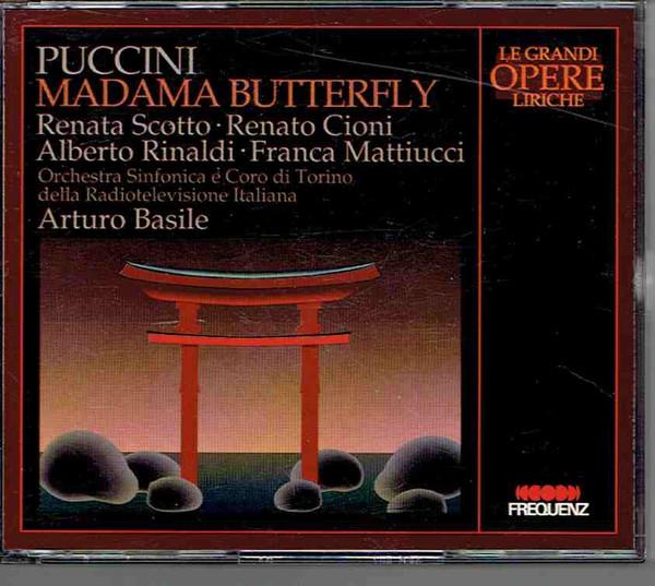 Puccini - Renata Scotto, Renato Cioni, Alberto Rinaldi, Franca Mattiucci, Arturo Basile Madama Butterfly Vinyl