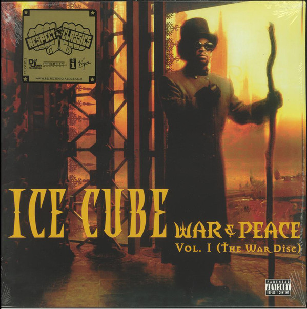 Ice Cube War & Peace Vol. 1 (The War Disc) Vinyl