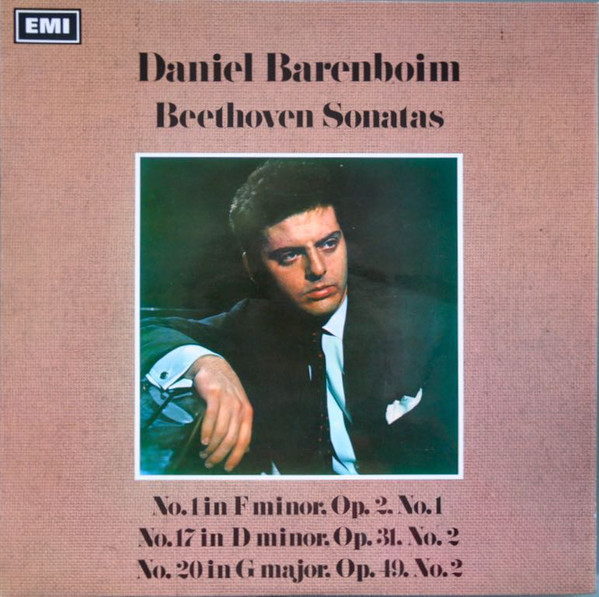 Beethoven - Daniel Barenboim Beethoven Sonatas: No.1 In F Minor, Op.2, No.1; No.17 In D Minor, Op.31, No.2; No.20 In G Major, Op.49, No.2