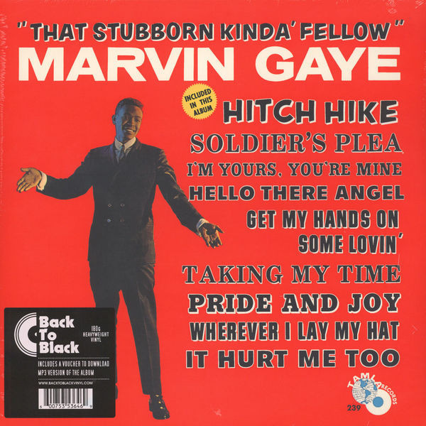 Gaye, Marvin That Stubborn Kinda Fellow Vinyl