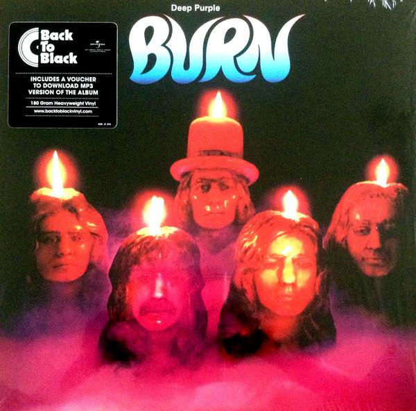 Deep Purple Burn Vinyl