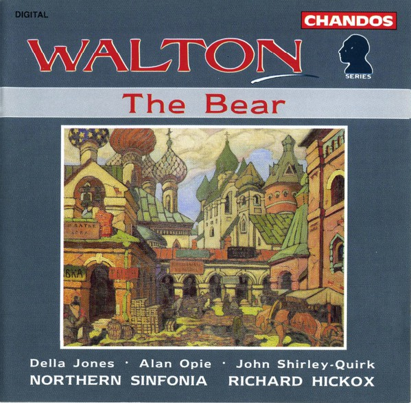 Walton - Della Jones, Alan Opie, John Shirley-Quirk, Northern Sinfonia, Richard Hickox The Bear CD