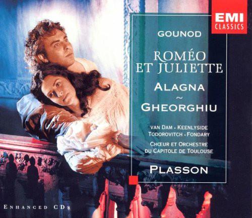 Gounod - Chœur et Orchestre National Du Capitole De Toulouse, Michel Plasson, Alagna, Gheorghiu, van Dam Roméo Et Juliette