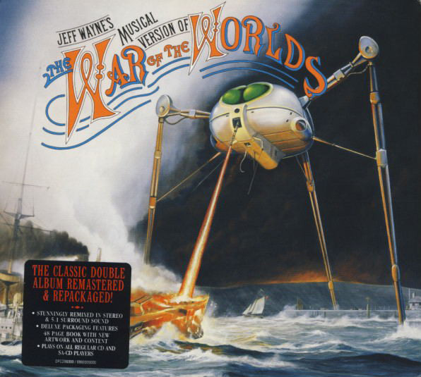 Jeff Wayne Jeff Wayne's Musical Version Of The War Of The Worlds