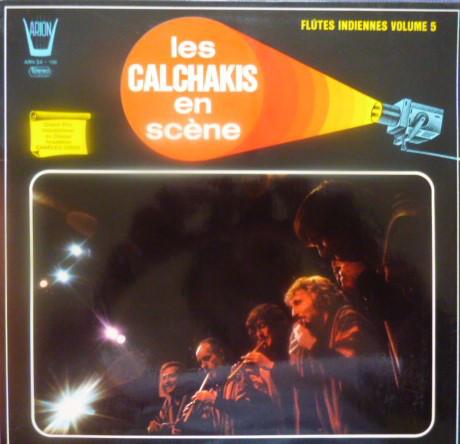 Los Calchakis Los Calchakis En Scène - Les Flûtes Indiennes Vol.5 Vinyl