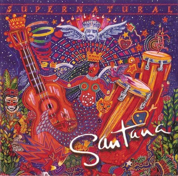 Santana Supernatural Vinyl