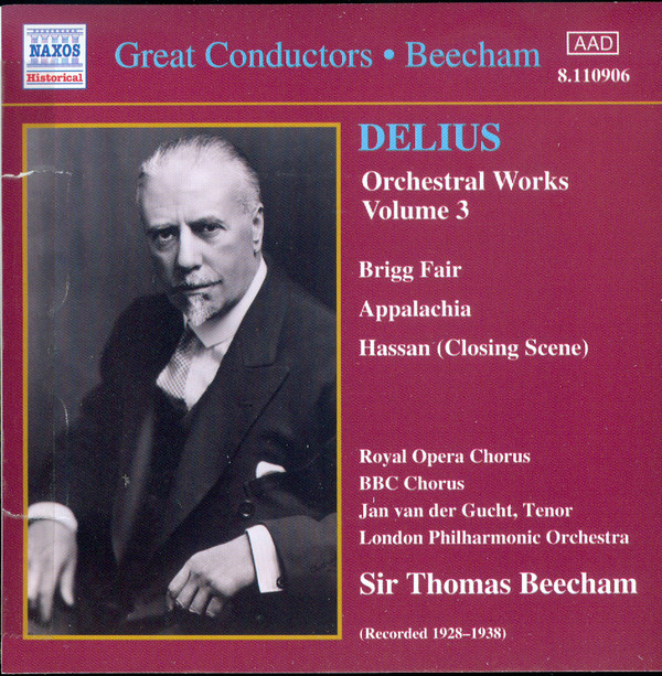 Delius, London Philharmonic Orchestra, Sir Thomas Beecham And His Symphony Orchestra Delius Orchestral Works, Volume 3