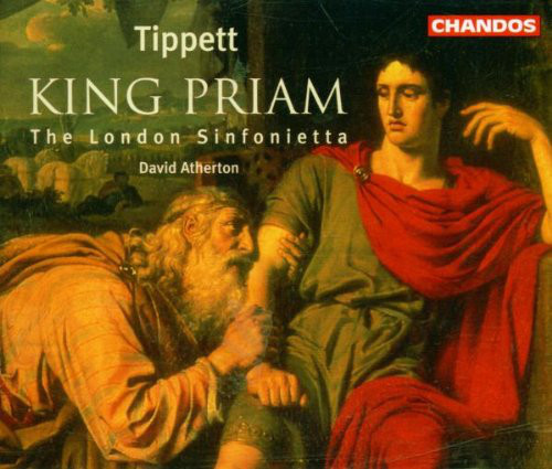 Tippett - The London Sinfonietta, David Atherton King Priam Vinyl
