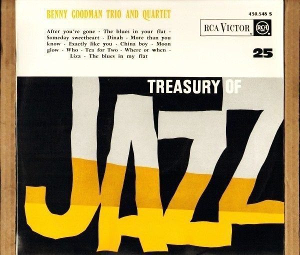 Benny Goodman Trio And Quartet Treasury Of Jazz No25