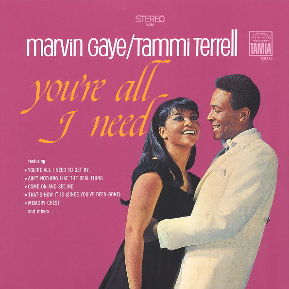 Marvin Gaye / Tammi Terrell You're All I Need