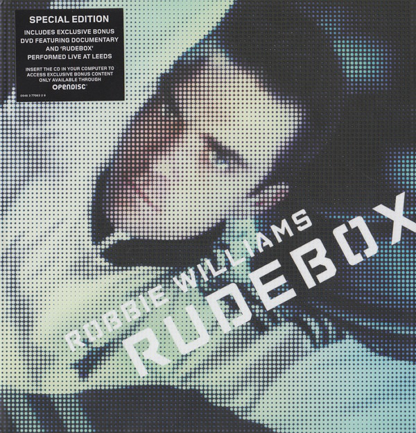 Williams, Robbie Rudebox - Special Edition CD