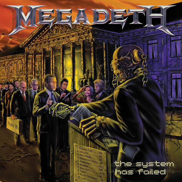 Megadeth The System Has Failed Vinyl
