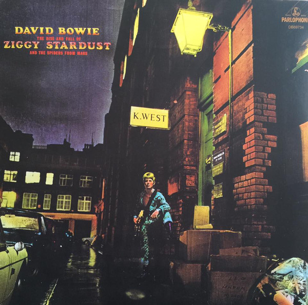 Bowie, David The Rise And Fall Of Ziggy Stardust And The Spiders From Mars  Vinyl