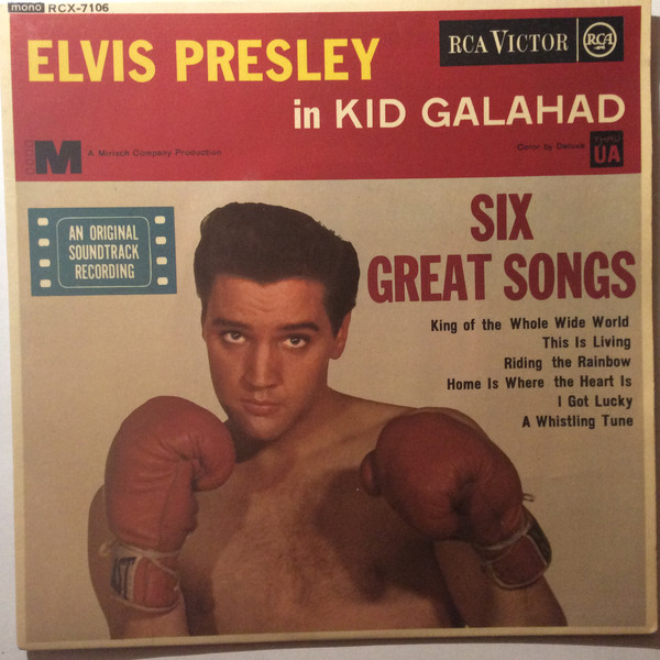 Presley, Elvis Kid Galahad  / Six Great Songs Vinyl