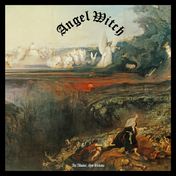 Angel Witch  As Above, So Below CD