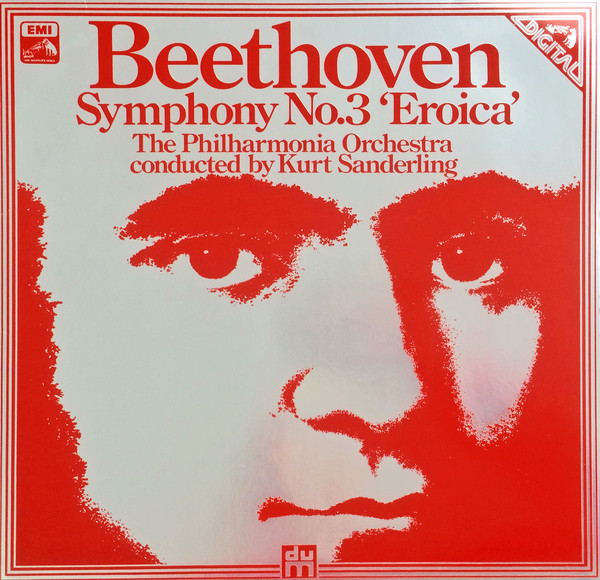 Beethoven - Kurt Sanderling Symphony No. 3 'Eroica' Vinyl