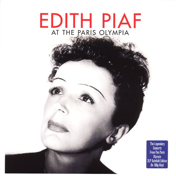 Edith Piaf At The Paris Olympia Vinyl
