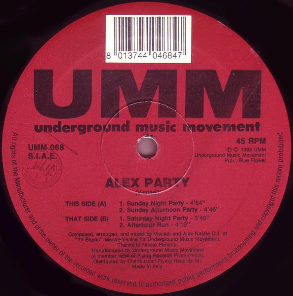 Alex Party Alex Party Vinyl