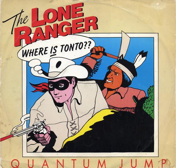 Quantum Jump The Lone Ranger Vinyl